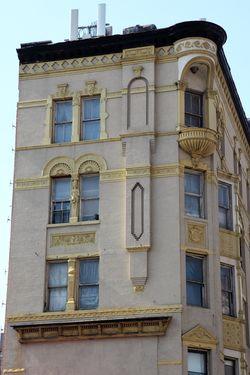 Apartments above Kentucky Fried Chicken, Third Ave, Manhattan