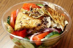 Fattoush, A Taste of Lebanon at Sammy's Gourmet, Madison Ave, Manhattan