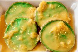 Serabi kuah santan durian, Indonesian food bazaar, First Presbyterian Church of Forest Hills, Queens