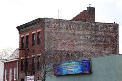 Swanson's Cafe, surviving signage, Mount Vernon, New York