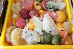 Frutas cristalizadas, Trigal Bakery, New Rochelle, New York