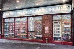 Chinatown photo illustration, The Humans, Helen Hayes Theatre, West 44th St, Manhattan