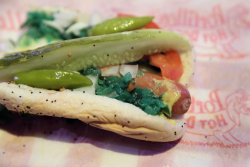 Chicago dog, Portillo's, Chicago