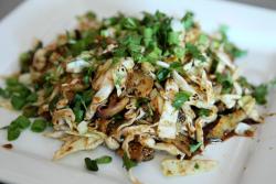 Conch larb, Pho Thai-Lao Kitchen, Maywood, New Jersey