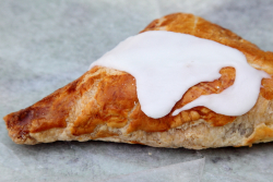 Apple turnover, Cucuzzella's Bakery, Newark, New Jersey