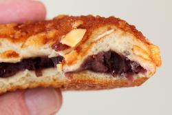 Fried soboro red bean bread (biteaway view), Bangjangsoo (aka BJD Bakers), Murray Hill, Queens