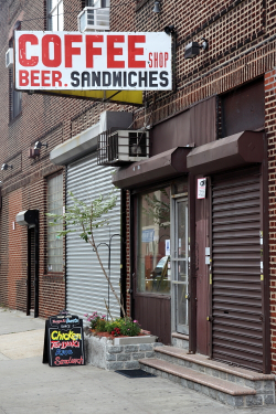 Seven Coffee Shop, Long Island City, Queens