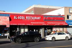 Al-Aqsa Restaurant and Al-Aqsa Supermarket, Parkchester, Bronx