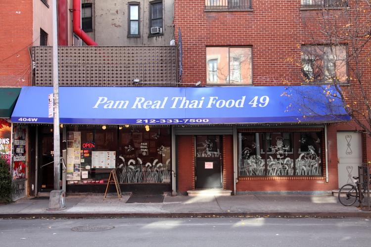 Pam Real Thai Food, West 49th St, Manhattan