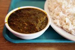Cassava-leaf sauce, Adaya, Claremont, Bronx