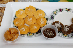 Toddy palm and banana cakes, 3 Aunties Thai Market, Woodside, Queens