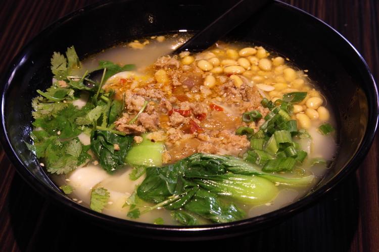 Cowpea noodles, Chong Qing Xiao Mian, Ninth Ave, Manhattan