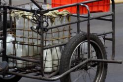 Milk delivery cycle  Mexico City