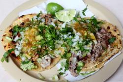 Tacos de tripa y suadero  Taquería El Torito  Mexico City