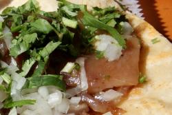 Cueritos taco  Ricos Tacos (aka Piaxtla Es Mexico Deli)  Sunset Park  Brooklyn