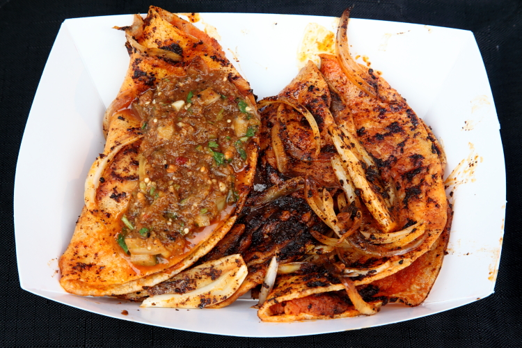 Tacos de canasta  Primos Variedades  Queens International Night Market  Flushing Meadows Corona Park  Corona  Queens