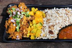 Chicken choila  While In Kathmandu  Ridgewood  Queens