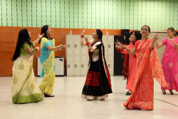 Dancers  Adhikaar's Dashain celebration  Woodside  Queens