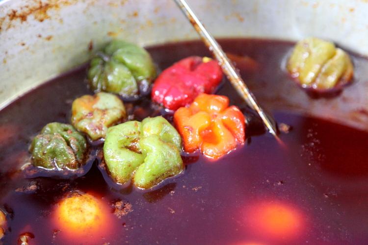 Pepper soup  Nigerian Independence Day Festival  Dag Hammarskjold Plaza  East 47th St  Manhattan