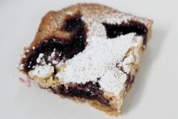 Black currant tart  St Luke's Church rummage sale  Forest Hills  Queens
