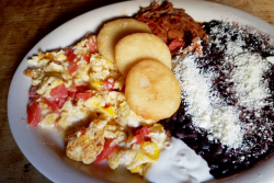 Llanero (cowboy) breakfast  El Cocotero  West 18th St  Manhattan