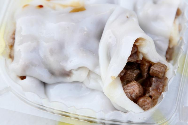 Steamed rice rolls with pork liver  Han Wong  Bensonhurst  Brooklyn