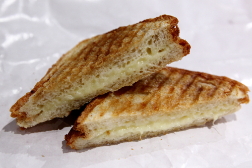 Grilled cheese  Saxelby Cheesemongers  Chelsea Market  Manhattan