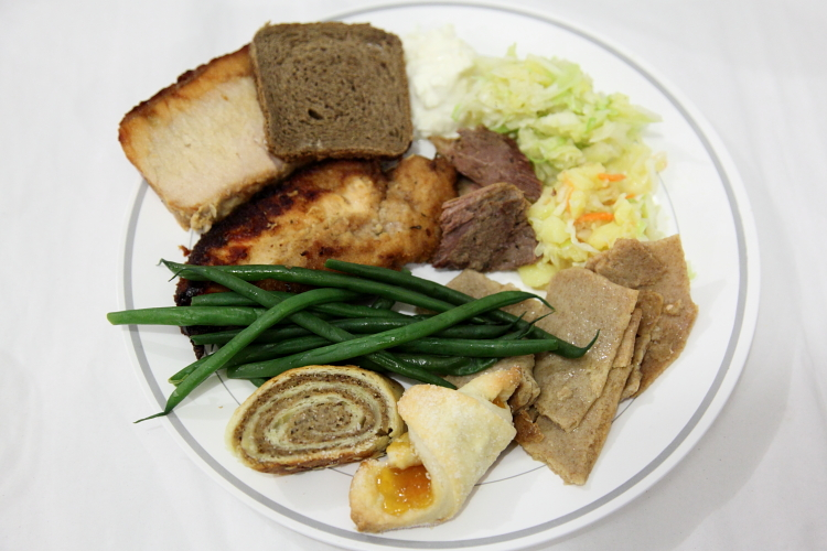 Sampler  Feast of St Martin  Church of St Cyril  St Mark's Pl  Manhattan