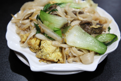 Stir-fried knife-cut noodles with lamb  88 Lan Zhou Handmade Noodle & Dumpling  Bowery  Manhattan