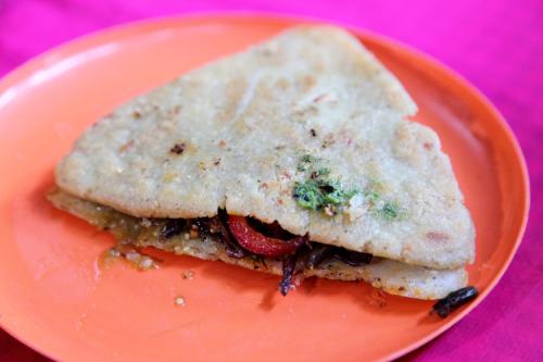 Itacate  Tlecuil  Mercado de Tepoztlan  Morelos  Mexico