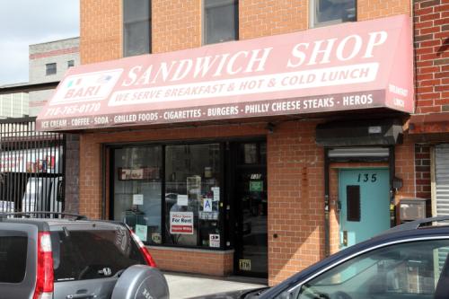 Bari Sandwich Shop  Sunset Park  Brooklyn