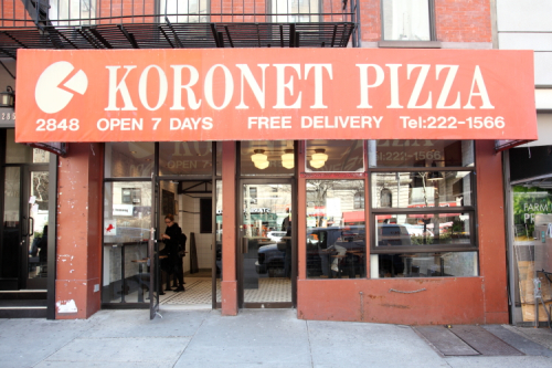 Koronet Pizza  Broadway  Manhattan