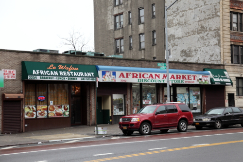 Le Wafou and African Market Discount Store  Fordham Heights  Bronx
