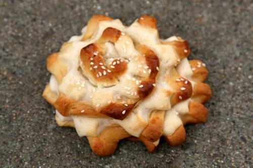 A %22chicken%22 from Mi Guatemala Bakery  Lynn  Massachusetts