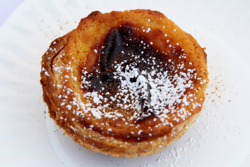 Pastel de nata  Portutuese egg tart  Joey Bats Cafe  The World's Fare  Citi Field  Corona  Queens