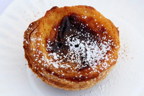 Pastel de nata  Portutuese egg tart  Joey Bats Cafe  The World's Fare  Citi Field  Corona  Queens