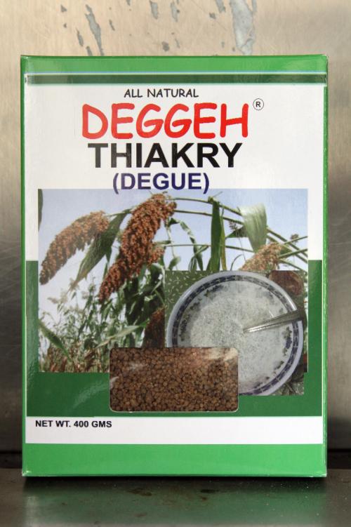 Deggeh brand thiakry from New Halal Meat Market  Frederick Douglas Boulevard  New York