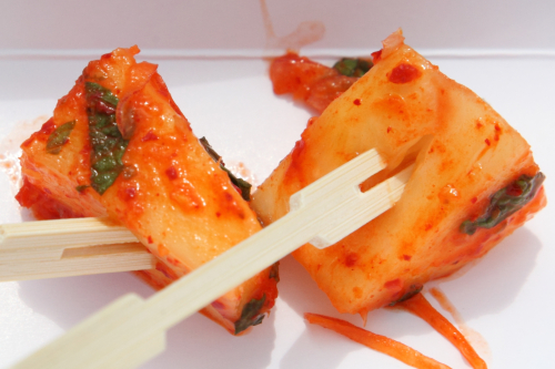 Pineapple kimchi  Forward Roots  The World's Fare  Citi Field  Corona  Queens