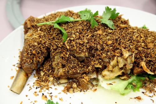 Crispy lamb ribs  Hao Xiang Ju  Flushing  Queens