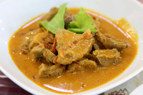 Gulai kambing  curried lamb  Upi Jaya  Elmhurst  Queens