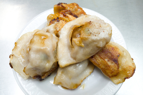 Fried dumplings  Fried Dumpling  Mosco St  Manhattan