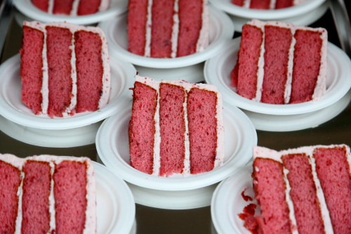 Strawberry cake  Sugaree's Bakery  Big Apple Barbecue Block Party  Madison Square  Manhattan