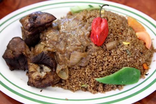 Ceebu yapp  Bravo African Restaurant  Soundview  Bronx