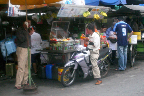 Swatow Lane Ice Kacang  Penang  Malaysia