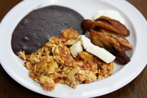 Desayuno tipico  Sabor Guatemalteco  Corona  Queens