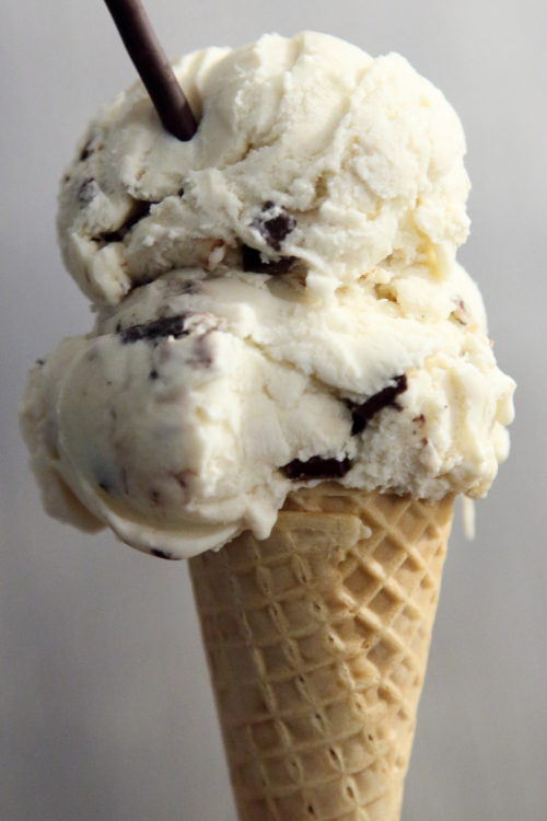 Misugaru and cookies in sugar cone  The Original Flushing Ice Cream Factory  Flushing  Queens