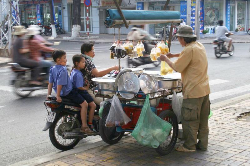 %22Three for the road %22 Ho Chi Minh City