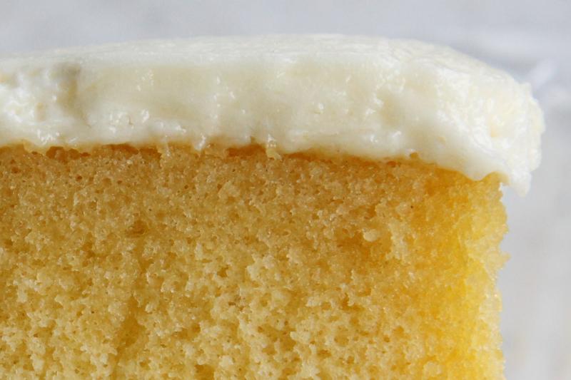 Yellow cake with buttercream icing  Berger's Bakery  Lexington Market  Baltimore