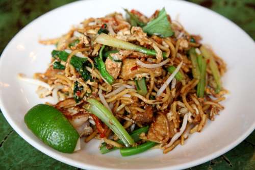 Mee goreng at Cafe Asean  West 10th Street  New York