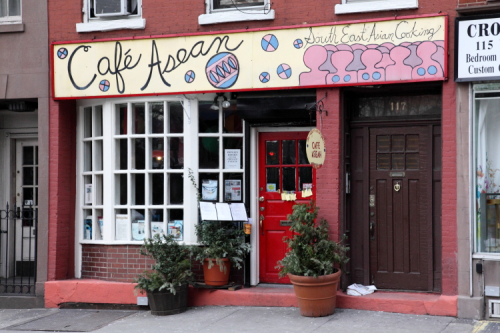 Cafe Asean  West 10th Street  New York